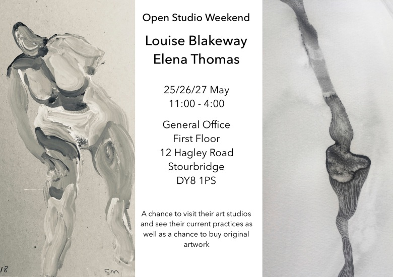 open studio flyer